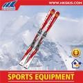 twin tip skis en bois pour adultes