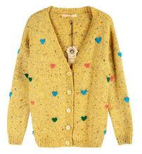 2013 girls fashional sweater cardigan vestido