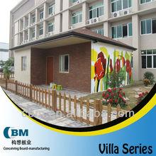 China standard lighst steel villa house