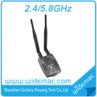 2.4GHz/5.8GHz High Power 300M USB Wireless Network Adapter with High Gain 5dBi Detachable Antenna (SL-D002)