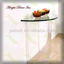 Elegant acrylic furniture lucite coffee table
