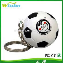 Custom Blank Cheap Plastic Soccer Ball Keyring