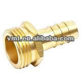 VMT odm custom metric brass male threaded hydraulic hose nipple