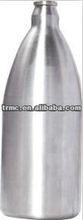 stainless steel beer bottle
