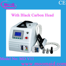 Internal distillation water cycle cooling and Semiconductor forced-air cooling Tattoo Removal Laser