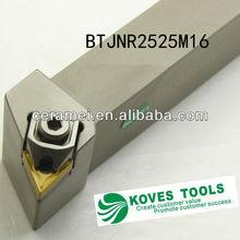BTJNR2525M16 turning tool/ B clamp cutting tool, lathe turning tool holder with TNMG16 carbide inserts