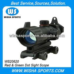 Airsoft 1X32 Red / Green Dot Sight Tactical Gun Scope