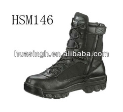 DH,mens black Bates 8 inch ultra elite combat side zipper boots