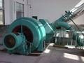 Hydro générateur à turbine pelton ensemble complet pour courir.- of- eau de la rivière power plant/station