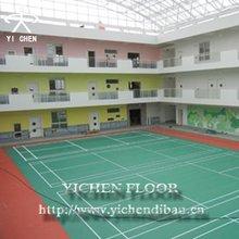 Badminton Court Synthetic Gym Flooring