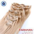 clip en extensiones del pelo de african american rojoindio remy cabello tejido