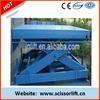SJG small stationary hydraulic motorcycle lift table