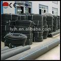 """12"""" sdr 17 80 pe grado tubo de polietileno de alta densidad para el dragado de arena"""