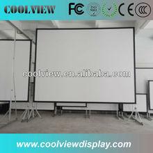 projector screen portable floor pull up screen
