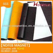 flexible fridge magnet / rubber magnetic sheet