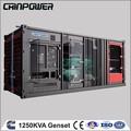 1250 industria kva cummins generador diesel insonoro conjunto con alternador stamform