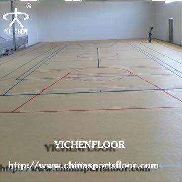 multipurpose court basketball pvc sports flooring