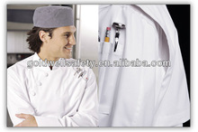 chef uniform-100%C-removable buttom-quality chef coat