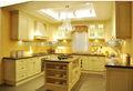 cereja em madeira maciça armário de cozinha projetos branco laca de madeira de móveis