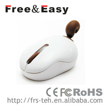 RF-512 Best 2.4Ghz wireless animal shape gift mouse for promotion