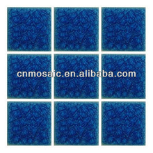 dark & light blue ceramic tiles small size and large size