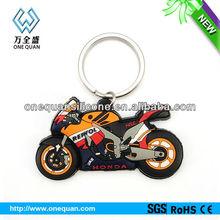 Honda silicone keychain