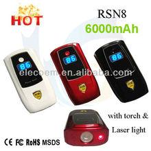 6000mAh keychain mobile portable power