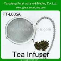 Mesh tea ball style tea strainer