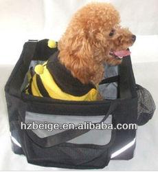 Folding Pet Bicycle Bag Pet Carrier Bag with Cardboard