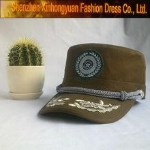 Custom khaki men cotton twill hats supplier
