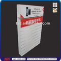 Tsd-w516 personalizado em madeira mdf wall display slatwall/4s iphone acessórios móveis display stand/móvel exposição da loja