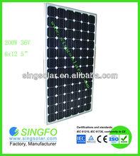 Mono 200 Watts Solar Panel CE,TUV,RoHS,SGS&ISO