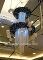 hotel /mall garland light festival christmas decoration