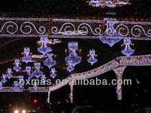 ramadan arabic style across street light mall festival Decorations