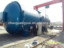 hot sale full aotomatic electricity heat used tire recycling equipment ( ce iso-9001)