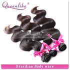 virgin brazilian hair bundles 3pcs/lot Mix length offer