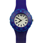 Hot Sale Purple Jelly Color Kids Watch Analog Relojes