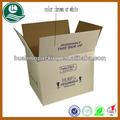 Alta- qualidade personalizado caixa ondulada da caixa especificações