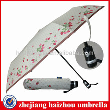 "23""x10 panels auto open close 3 Folding Umbrella,strong frame compact umbrella,good quality ultraviolet-proof umbrella,"