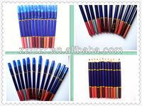 Multi-colored ,waterproof eyebrow pencil cosmetics make-up in makeup factory