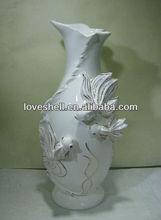 Ceramic Decoration Gold Vase Wholesale