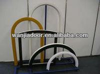 interior arch window/arch top windows/foshan wanjia brand