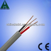 twin and earth cable/300/500V cable/BS standard cable