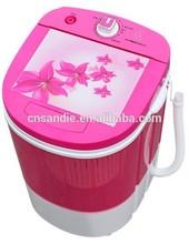 3.8kg single tub OEM semi automatic mini washing machine with dryer