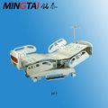 nuevo 2013 venta caliente multi función de uci inoxidable cama de hospital eléctrica