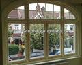 arco de aluminio ventanas de la parrilla diseño de foshan wanjia de fábrica