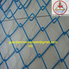 chain link wire mesh green/ 2.5mm pvc coating chainlink wire/garden fence 2.5m height