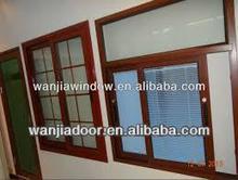 office sliding window/aluminum profile vertical sliding window