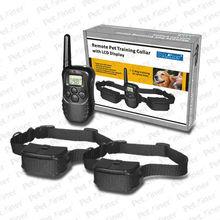 100LV 300 Static Shock & Vibration Dog Collar Training With LCD Display