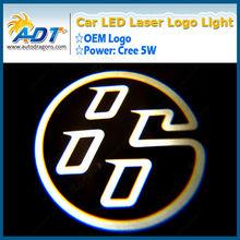 2013 new arrival LED logo laser light LED car door car logo courtesy door light for Ford